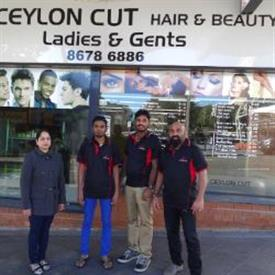 Ceylon Cut - Gents and Ladies Salon