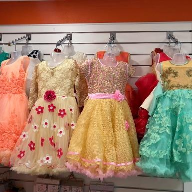 indian kids party dress